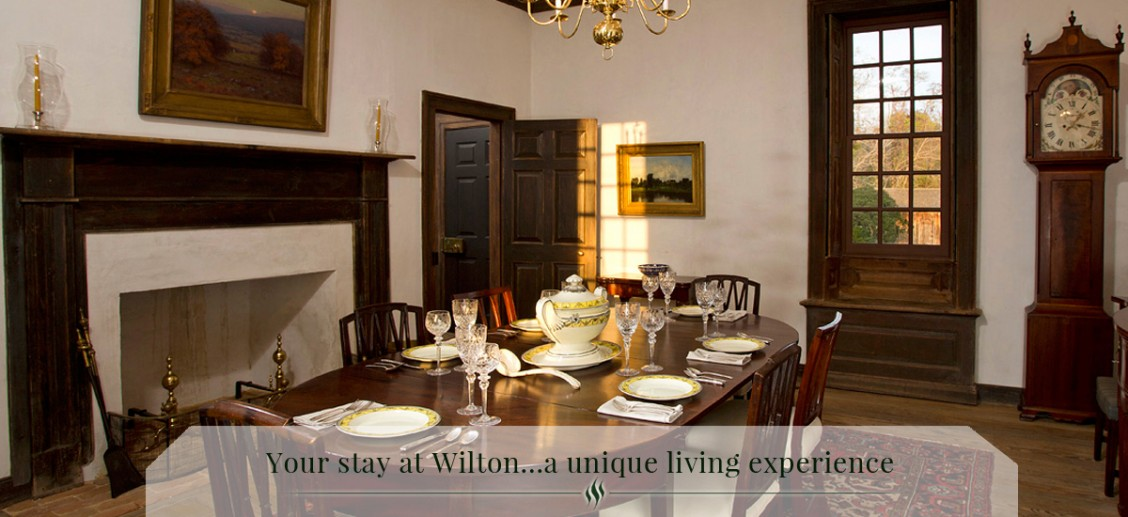 About Wilton House, a Historic Virginia Plantation for Rent
